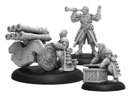 Steelhead Volley Gun Crew Mercenary Unit (metal/resin)